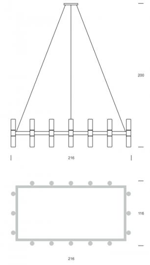 CARLO BIS Ż32 up-down Żyranol wymiary