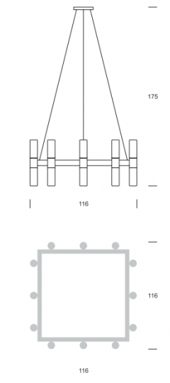 CARLO BIS Ż24 up-down Żyranol wymiary