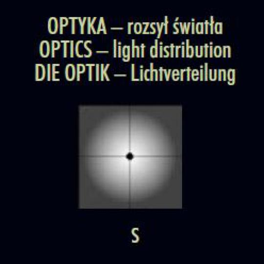 FRYZJA LED LO 0,4m Lampa Ogrodowa optyka