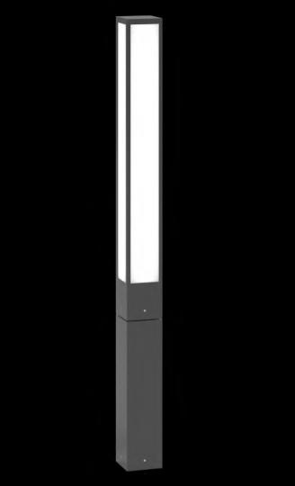 FRYZJA LO 1,2m Lampa Ogrodowa szara