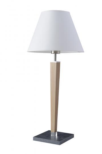 KLEO BIS LG Lampa Gabinetowa naturalny, drewno, metal, abazur, nowoczesny, ElmarCo POLSKI producent oświetlenia elmarco_pl