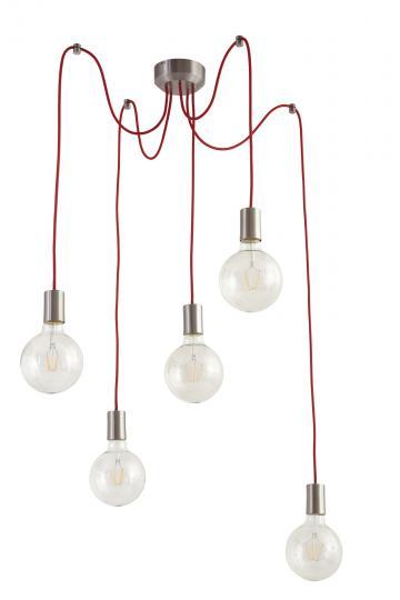 SCANDIC K Ż5 Z Żyrandol, kable kolor, minimalistyczny, prosty, ElmarCo POLSKI producent oświetlenia elmarco_pl