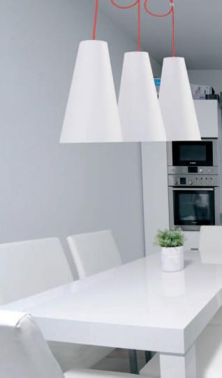 LUIZA LS3 Lampa Sufitowa nad stołem