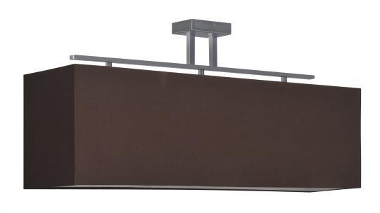 STUDIO LS-S3 Lampa Sufitowa abażur brązowy