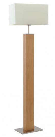 ENEA LP Lampa Podłogowa naturalna chrom