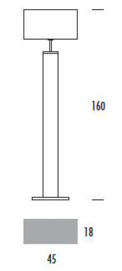 ENEA LP Lampa Podłogowa wymiary