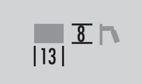 Kandel K V wymiary