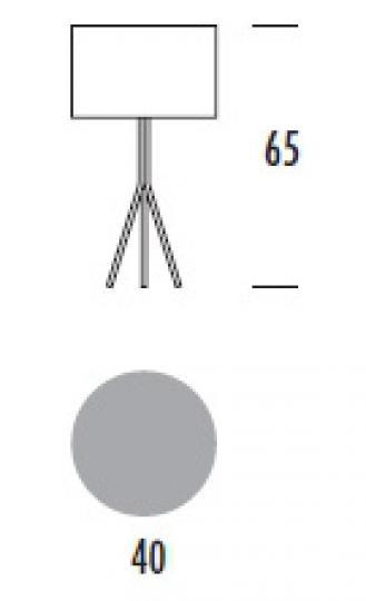 VIVA LG Lampa Gabinetowa wymiary