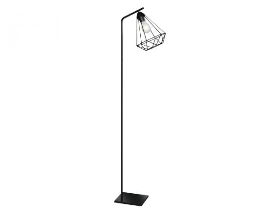 Nordic S LP Lampa Podłogowa czarna