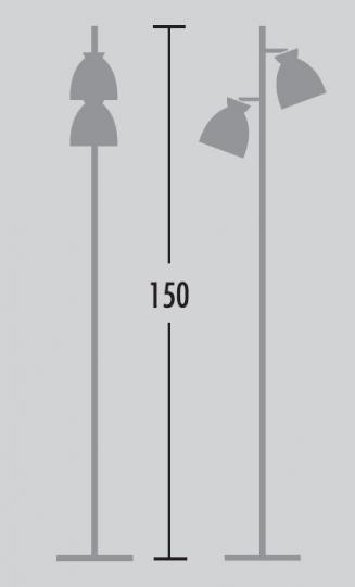 Nordic Lampa Podłogowa wymiary