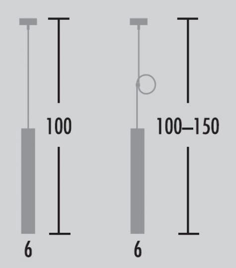 Par Lampa Sufitowa wymiary