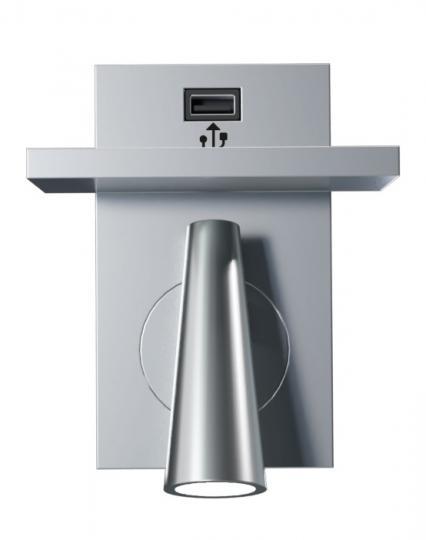 Kandel półka USB Kinkiet