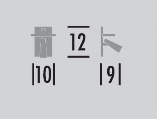Kandel półka USB wymiary