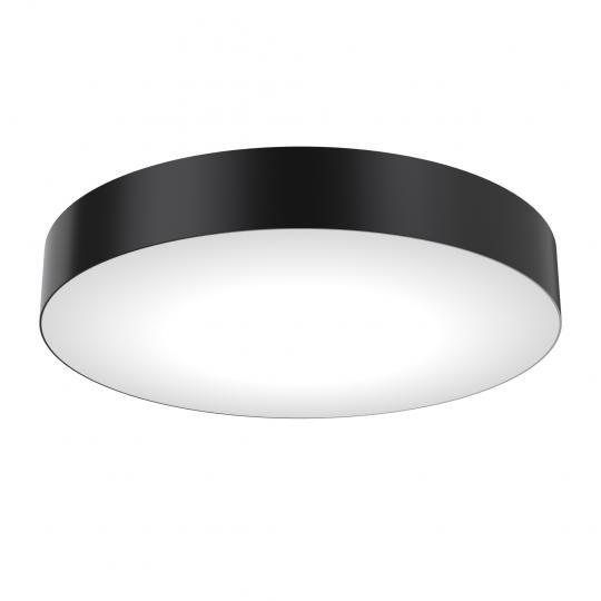 RONDO PL FI40/8 Plafon czarny, okrągły, ElmarCo POLSKI producent oświetlenia elmarco_pl
